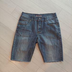 Tommy Hilfiger denim cutoff shorts